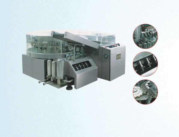 HCX rotary-type ultrasonic bottle-washing machine