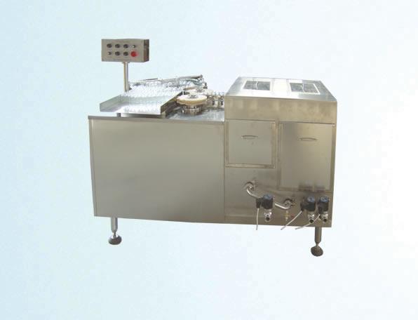 CXP type ultrasonic bottle washing machine