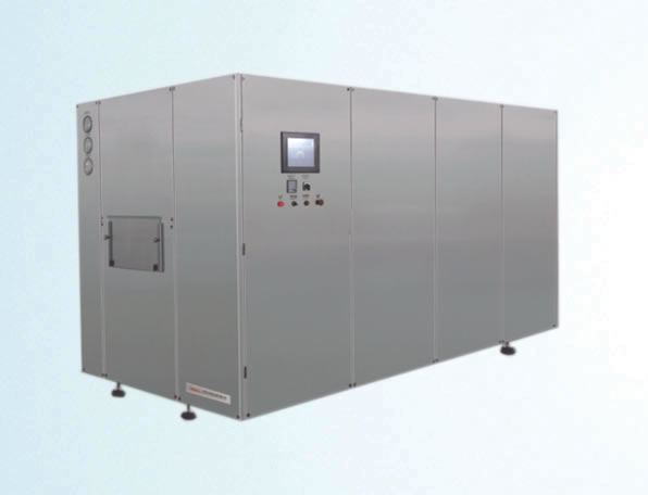 GMS type hot air circulating sterilizing tunnel oven