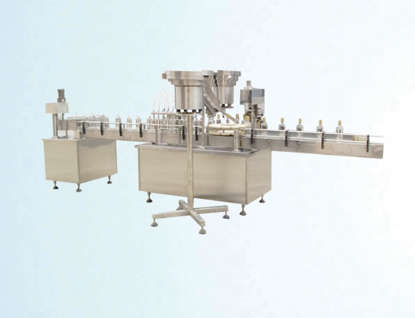 JGF Alcohol liquid Filling & Sealing Machine