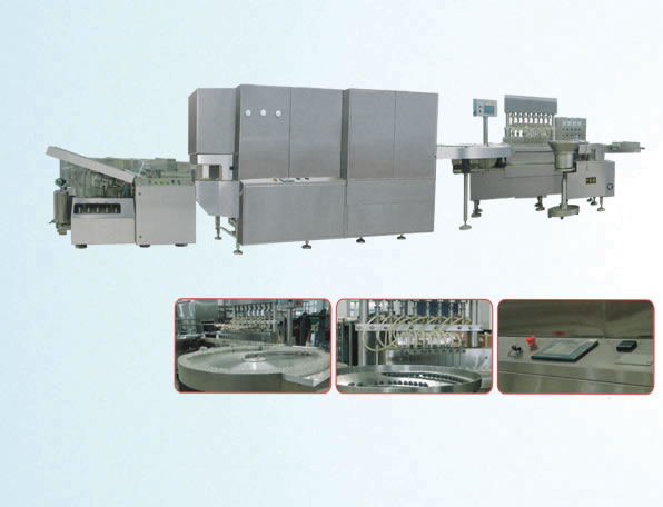 Resistant high-speed liquid bottle filling production line