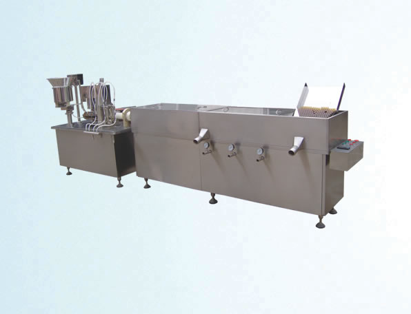 XHG oral liquid washing drying and pouring linkage unit